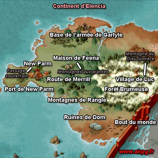 Exceptionnel La Carte du monde - Grandia - Universal Soluce ZO58